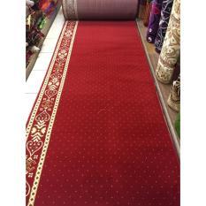 sejadah masjid motif per roll warna merah PERSIAN