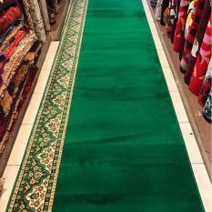 sejadah masjid murah meter warna hijau AL AKSA