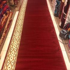 sejadah masjid pabrik meter warna merah AL AKSA