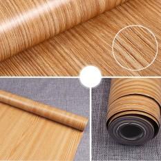 Diri Perekat PVC Stiker Wood Biji-bijian Dinding Kertas Film Stiker untuk Perabotan Rumah Tangga DIY Mudah Diinstal Tanpa Mess 10 M Spesifikasi: a09