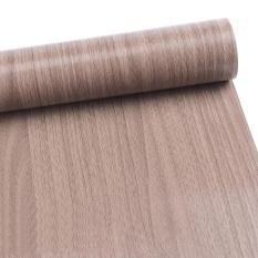 Self Adhesive PVC Decal Wood Grain Wall Film Kertas Sticker untuk Perabotan Rumah Tangga DIY Mudah Diinstal Tanpa Mess 10 M Spesifikasi: A09