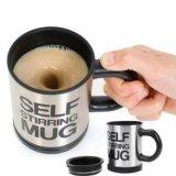 Promo Self Stirring Mug Black Gelas Pengaduk Coffee Otomatis Hitam Black Akhir Tahun