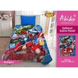 Spesifikasi Selimut Akiko Sutra Panel 150X200 Avengers Merk Akiko