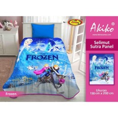Selimut Akiko Sutra Panel 150x200 Frozen