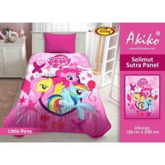 Jual Selimut Akiko Sutra Panel 150X200 Little Pony