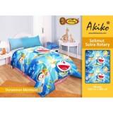 Spesifikasi Selimut Akiko Sutra Rotary 150X200 Doraemon Mermaid Yang Bagus
