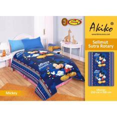 Beli Selimut Akiko Sutra Rotary 150X200 Mickey Dengan Kartu Kredit