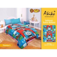 Obral Selimut Akiko Sutra Rotary 150X200 Thomas 2 Murah