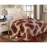 Toko Selimut Bulu Dewasa 180X200 Batik Coklat Lucky Blanket Di Indonesia