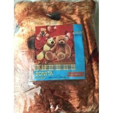 Selimut Halus Bonita motif Bear