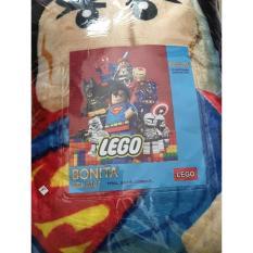 Selimut Halus Bonita motif Legoo