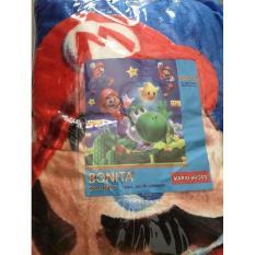 Selimut Halus Bonita motif Mario Bros