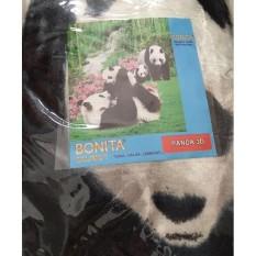 Selimut Halus Bonita motif Panda