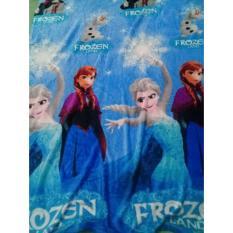Selimut Karakter Frozen - Bulu / Bludru / Lembut