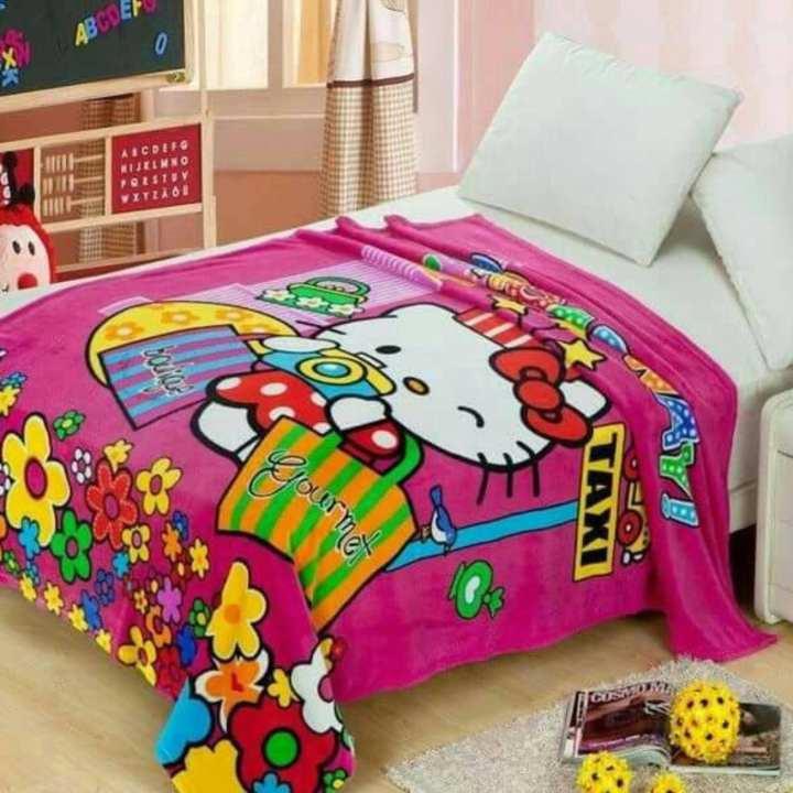 ... Anak Laki Laki Source · Selimut Karakter Hello Kitty Bulu Flanel Halus 150 x 200
