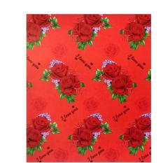 Selimut Lady Rose - Red Love (Selimut Bulu Super Soft) Murah