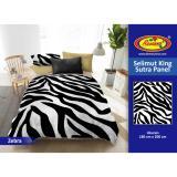 Spesifikasi Selimut Rosanna King Sutra Panel 180X200 Zebra Yang Bagus Dan Murah