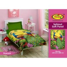 Dimana Beli Selimut Rosanna Soft Panel 150X200 Peacock Rosanna Selimut