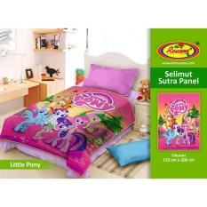 Selimut Rosanna Sutra Panel 150x200 Little Pony