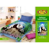 Selimut Rosanna Sutra Panel 150X200 Panda Original