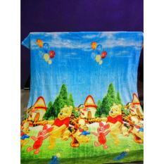 Harga Selimut Super Lembut Merk Akiko Karakter Pooh Uk 150X200 Cm Lokal Brand Online