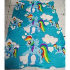Toko Selimut Valda Pony Sky Sutra Rotary 150X200 Murah Jawa Barat