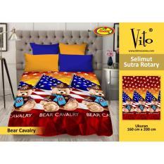 Spesifikasi Selimut Vito Bear Cavalry Sutra Rotary 160X200 Lengkap
