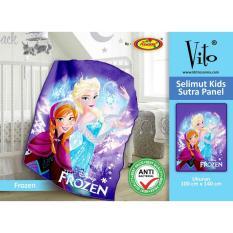 Beli Selimut Vito Kids Sutra Panel 100X140 Frozen Ice Dengan Kartu Kredit
