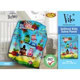 Toko Selimut Vito Kids Sutra Panel 100X140 Owl Termurah Jawa Barat