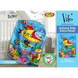 Harga Selimut Vito Kids Sutra Panel 100X140 Submarine Dan Spesifikasinya