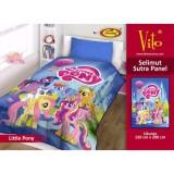 Beli Selimut Vito Sutra Panel 150X200 Little Pony Terbaru