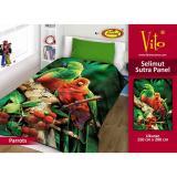 Spesifikasi Selimut Vito Sutra Panel 150X200 Parrots Murah Berkualitas