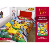 Review Selimut Vito Sutra Panel 150X200 Pokemon