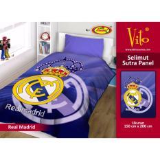 Promo Selimut Vito Sutra Panel 150X200 Real Madrid Murah