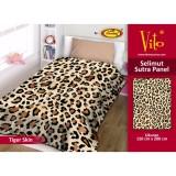 Beli Selimut Vito Sutra Panel 150X200 Tiger Skin Cicilan