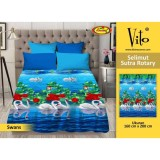 Harga Selimut Vito Sutra Rotary 160X200 Swans Branded