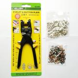 Spesifikasi Sellery 92 895 2 In 1 Eyelet Button Plier Black Smoke Tang Mata Ayam Bagus