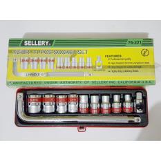 Spesifikasi Sellery Dr 76 221 Socket Kunci Sock Set 1 2 Inch 11 Pcs Terbaik