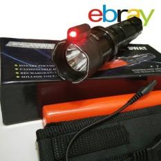 Senter Ebray Multifungsi Led + Setrum Kejut + Laser Merah SWAT