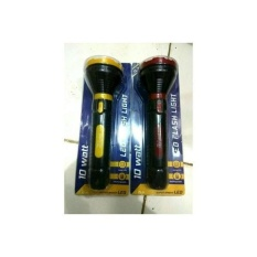 Jual Beli Senter Led Cas Rechargeable Emergency 10 Watt Push On Fl7100 Baru Banten