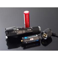 Senter LED Cree Laser Terang E17 XM-L T6 2000 Lumens 18650 / 3 x AAA PROMO TERLAKU!!!