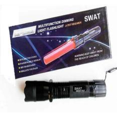 Promo Senter Multifungsi Swat Led Setrum Kejut Laser Merah Di Jawa Barat
