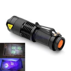 Senter UV SUV1 Flashlight - Black