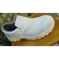 Sepatu safety merk safetoe tipe draco white