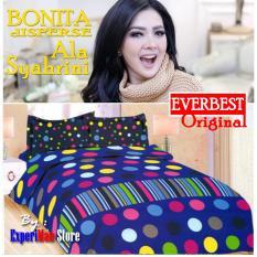 Seprai Bonita Ala Syahrini Original Tipe EVERBEST 180 x 200 - 1Sprai - 2bantal - 2guling
