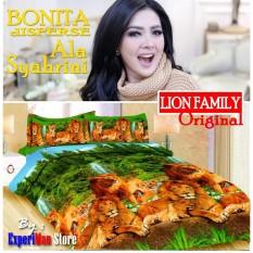 Beli Seprai Bonita Ala Syahrini Original Tipe Lion Family 180 X 200 1Sprai 2Bantal 2Guling Dki Jakarta