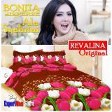 Harga Seprai Bonita Ala Syahrini Original Tipe Revalina 180 X 200 1Sprai 2Bantal 2Guling Merk Bonita Disperse