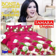 Seprai Bonita Ala Syahrini Original Tipe TAMARA 180 x 200 - 1Sprai - 2bantal - 2guling