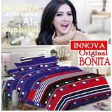 Jual Seprai Bonita Ala Syahrini Original Tipe Innova 180 X 200 1Sprai 2Bantal 2Guling Original Lengkap