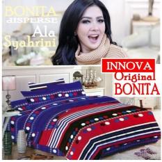 Seprai Bonita Ala Syahrini Original Tipe Innova 180 x 200 - 1Sprai - 2bantal - 2guling Original